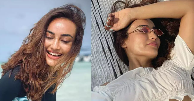 Surbhi Jyoti Passes Tropical Vibes As She Chills During Her Vacay, Take A Look