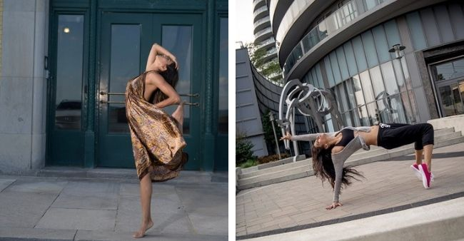 """Shreya Patel takes over internet with her on the street """"aerial"""" moves"""