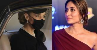 "Kareena Kapoor Khan shares the picture of ""Duchess of Cambridge"" from the last rites of Prince Philip"