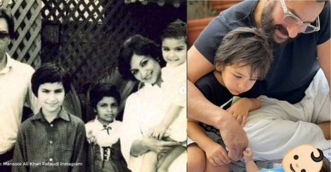 Mesmerizing pictures of Pataudi family shared by Saba Pataudi, leaves the viewers spell bound
