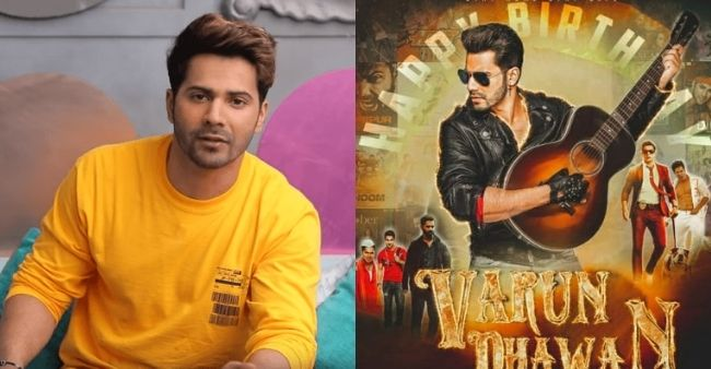 "Varun Dhawan's ""larger than life"" poster for birthday gets criticized by fans"