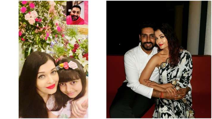 Distance fails to become an obstacle as Aishwarya and Abhishek celebrate their anniversary virtually