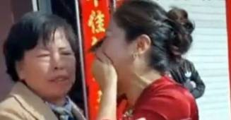 Chinese Mom Goes In Tears After She Realizes That Her Son's Bride Is Her Missing Daughter