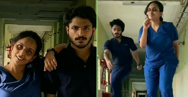 Kerala Medical Duo Hit Limelight With Their 30-Sec Dance Video