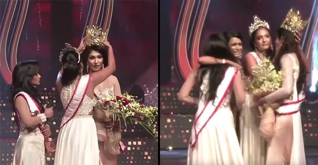 'Mrs Sri Lanka' Leaves Stage After Ex Winner Takes Away Her Crown, Video Turns Viral