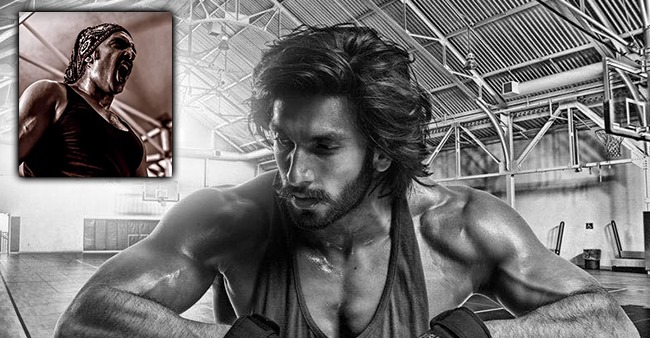 Ranveer Singh Shares A Pic Flaunting His Chiseled Body; Fans All Hearts
