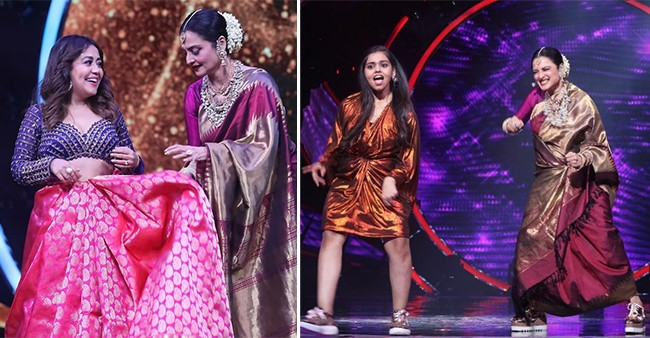 Indian Idol 12: Rekha To Join Contestant Shanmukha Priya On Stage & Dance To 'Humma Song'