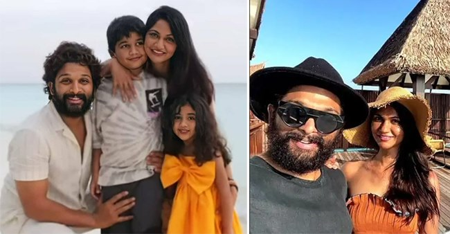 Allu Arjun Vacations In Maldives With Family & Their Photo Diary Is All Things Breathtaking