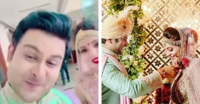 Sugandha Mishra gives an elegant reply after being called 'Mrs Bhosale' by husband Sanket Bhosale