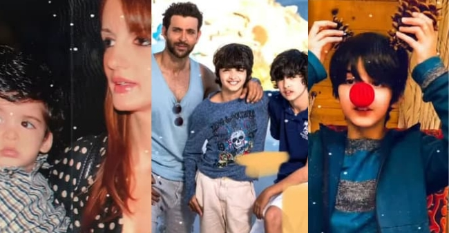 """Sussanne Khan wishes her son on his 13th birthday, calls him """"true artist"""" and """"heartmonster"""""""