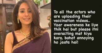 "Asha Negi's hilarious comment on celebs posting vaccination pictures, says ""it's annoying"""