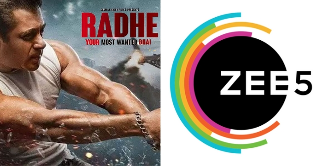 Zee5's server crashes as 1.2 Million users log in to watch 'Radhe – Your Most Wanted Bhai'