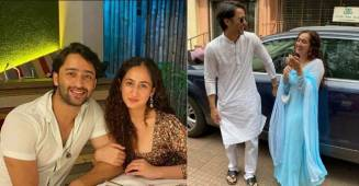 Shaheer Sheikh and Ruchikaa Kapoor are expecting their first little one