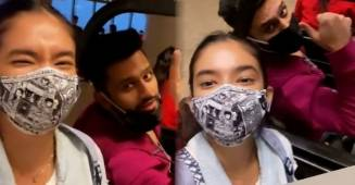 Anushka Sen shares a marvelous video with Rahul Vaidya on their way to Khatron Ke Khiladi 11 shoot