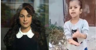 Juhi Chawla shares video of a cute little girl planting trees amid COVID-19 oxygen crisis, fans go mushing over it