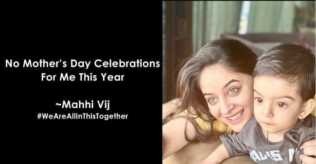 Mahhi Vij drops her Mother's Day Celebration plans, posts an emotional reason