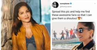Sunny Leone want to know the super excited fans in her latest Instagram post, appeals netizens to help finding them