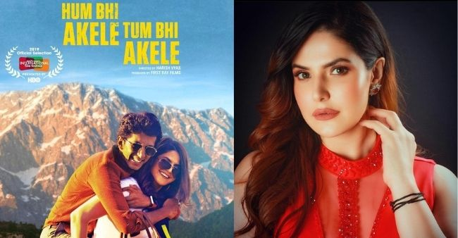 """Zareen Khan: """"Just had to be honest to emotion of love"""" on playing a lesbian character in the movie 'Hum Bhi Akele Tum Bhi Akele'"""