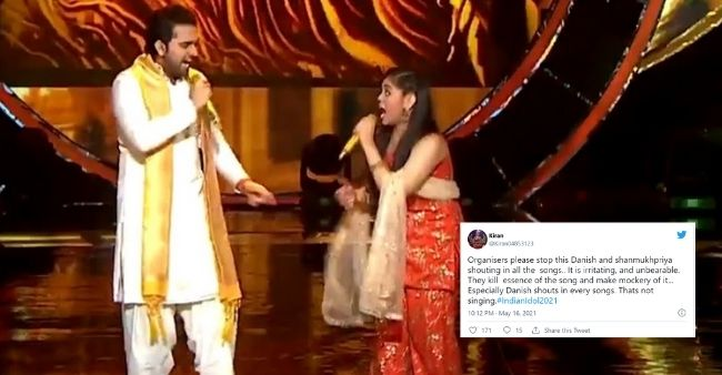 'Shouting Is Not Singing': Fans demand removal ofMohammad Danish and Shanmukha Priyafrom Indian Idol 12