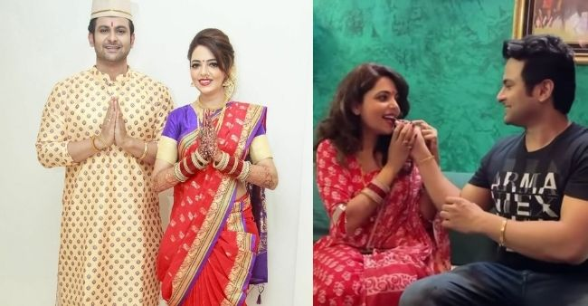 Sugandha Mishra celebrates husband Sanket Bhosale's birthday through a sweet gesture