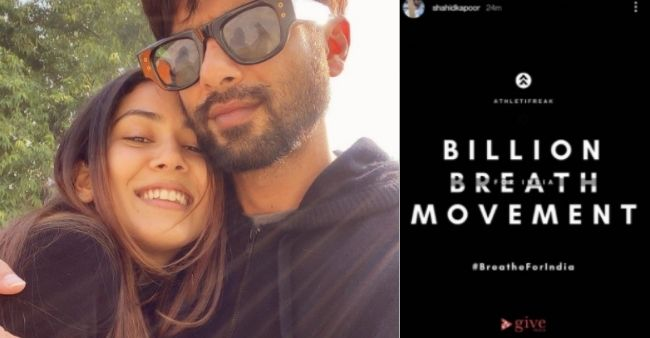 Shahid Kapoor and Mira Rajput join hands amplifying COVID-19 relief fundraiser started by her sister and brother-in-law, Noor and Mohnish Wadhwani