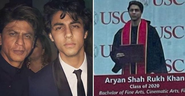 Shah Rukh Khan's son Aryan Khan graduates from USC with a BFA, fans gush over photo from graduation ceremony
