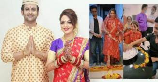 Sugandha Mishra posts staggering pictures as newly wedded 'Marathi Bride'