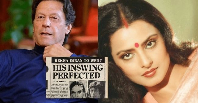 When Imran Khan, current PM of Pakistan and Rekha almost got married in the 1990s