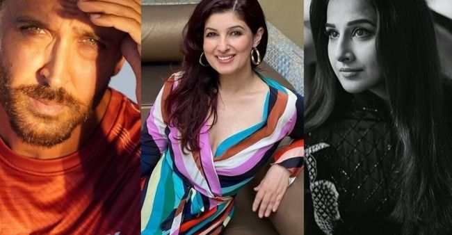 Twinkle Khanna dedicates Instagram posts to Hrithik Roshan and Vidya Balan for their silent contributions to the COVID-19 relief