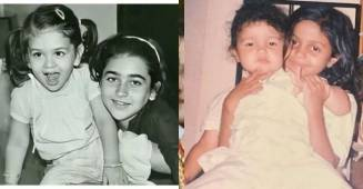 Adorable childhood pictures of your favorite celebrities with their siblings