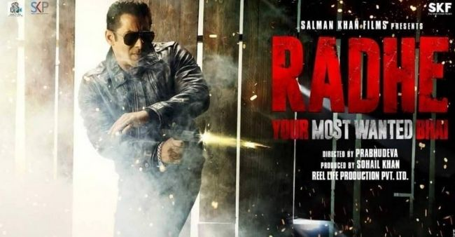 'Radhe' becomes the shortest Salman Khan film with a runtime of 114 minutes