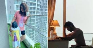 Tahira Kashyap shares shirtless picture of Ayushmann Khurrana, gives witty response to Rochak Kohli's 'kapde kahan gaye'