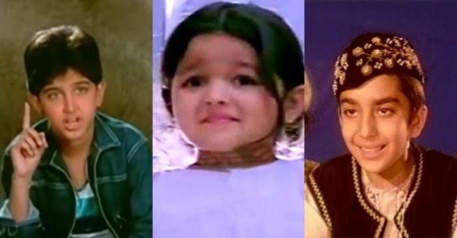 Bollywood celebrities who started their careers as child actors in the industry