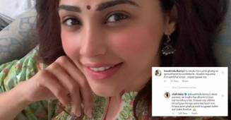 "Daisy Shah responds to a hateful comment on her Eid post by saying, ""My parents have taught me to respect every religion"""