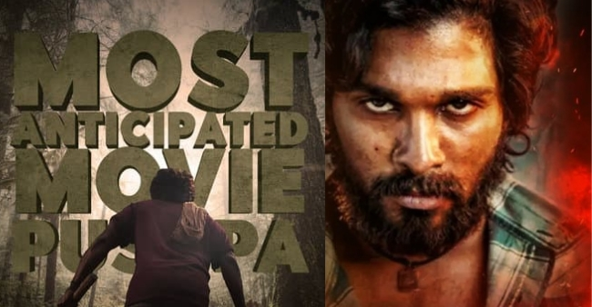 Fans trends Allu Arjun for film Pushpa, glorifying the most anticipated movie
