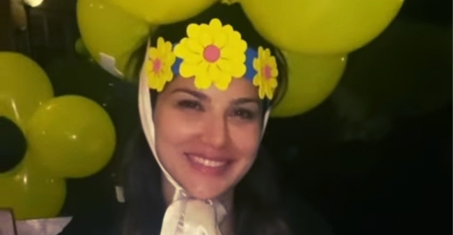 Sunny Leone shares a 'hidden' Birthday video which leaves her fans amazed