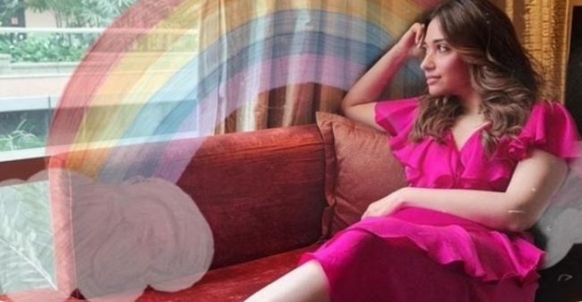 Tamannaah Bhatia's dreamy pink dress is worth the buzz, see pictures