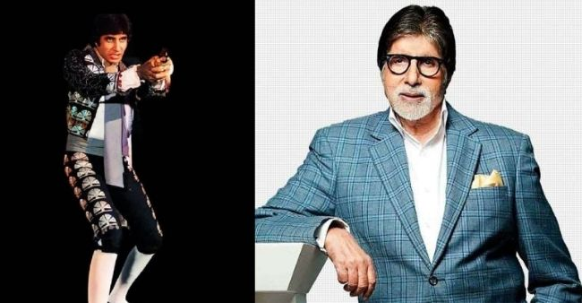 Big B shares about his movie Naseeb's climax shot on rotating set, captioned 'Those were the days'
