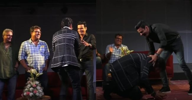 When Sunil Grover shocked Manoj Bajpayee by touching his feet out of 'respect', lived his fanboy moment
