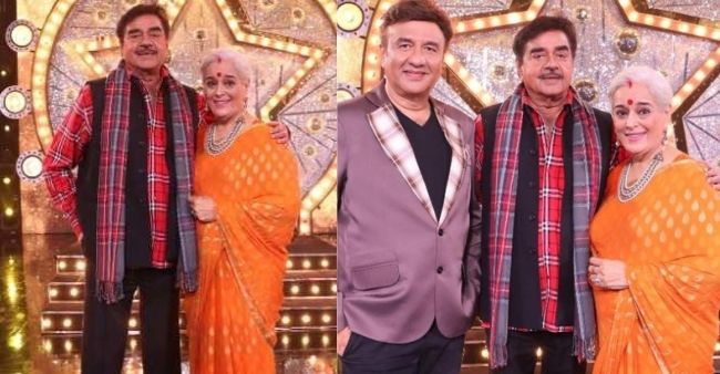Shatrughan Sinha graces wife Poonam Sinha with a musical surprise on the Indian Idol 12 stage