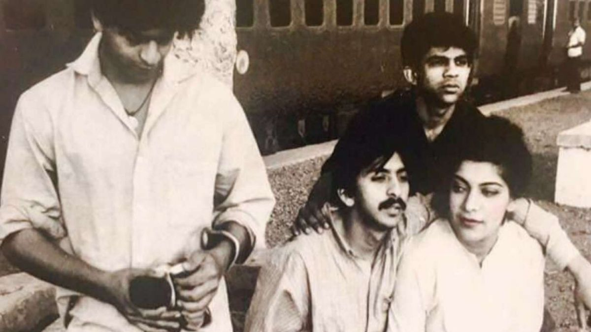 Story behind the rare throwback picture of Shah Rukh Khan
