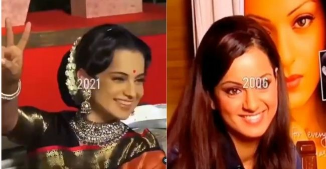 Kangana Ranaut shares a fan made career transformation video: 'I suffered a lot'