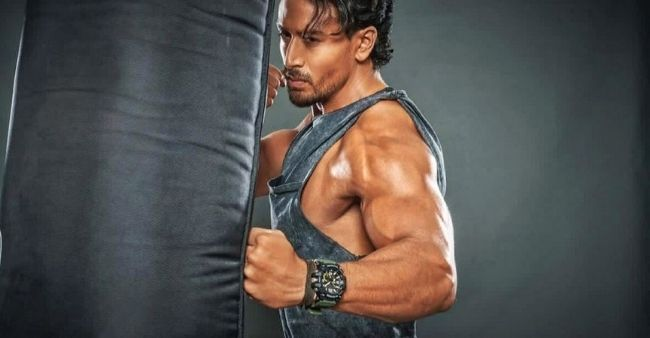 Tiger Shroff hits high to his 'kind of Music' while working out