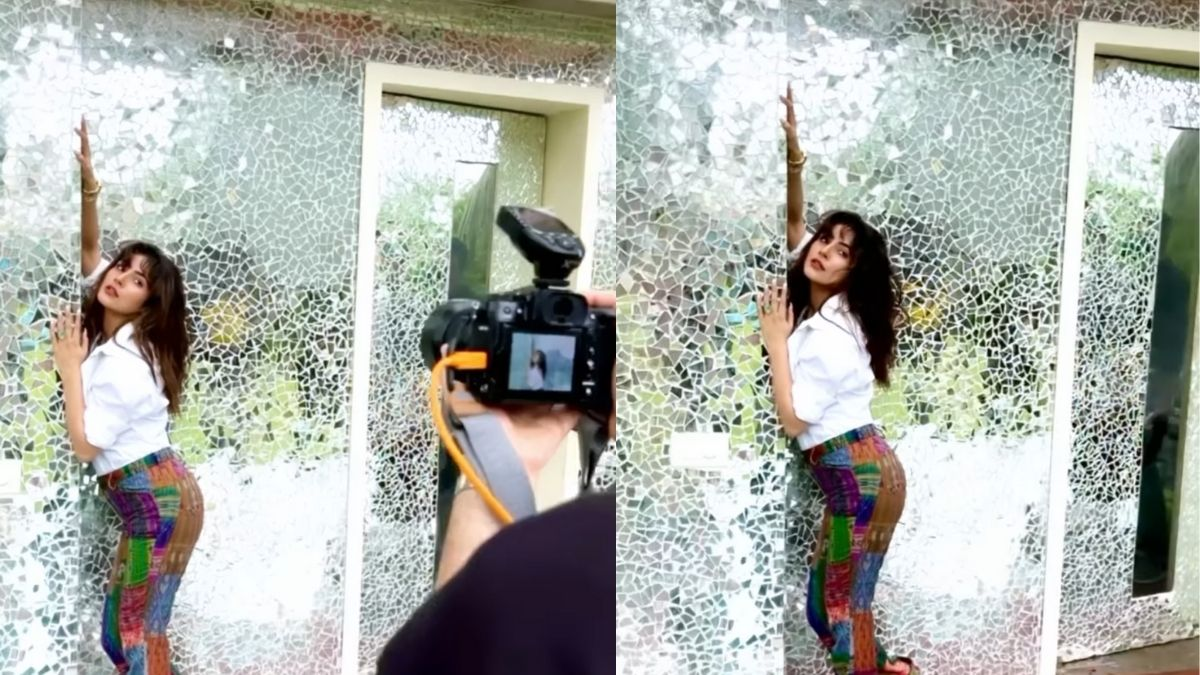 Behind the scene video of Shehnaaz Gill from Dabboo Ratnani's photoshoot will 'blow your mind'