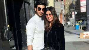 Throwback picture of Sushmita Sen and Rohman Shawl from one of their vacations