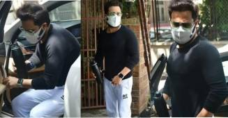 Emraan Hashmi flaunts his fitness, spotted on the streets of Mumbai