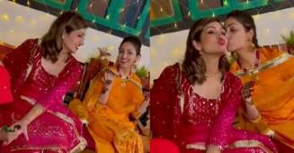 Yami Gautam posts never-before-seen footage from the Mehendi ceremony