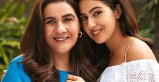 Sara Ali Khan signed in collaboration with her mother Amrita Singh for a commercial
