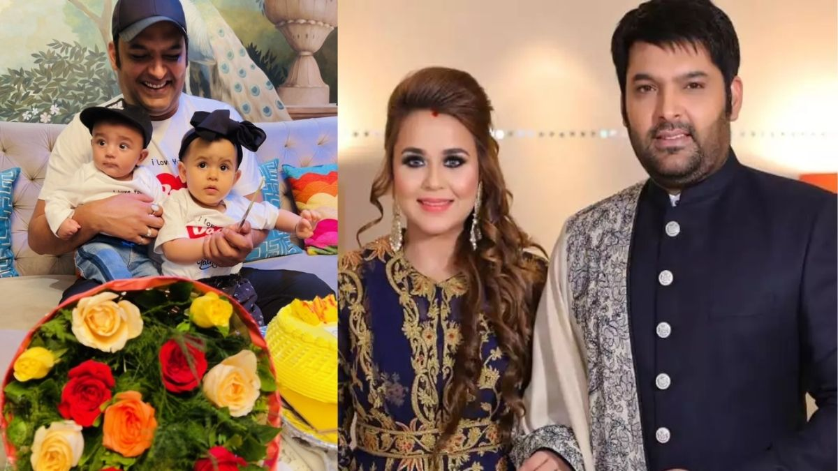Kapil Sharma shares first photo with his baby boy and daughter 'on the strong demand of the public'