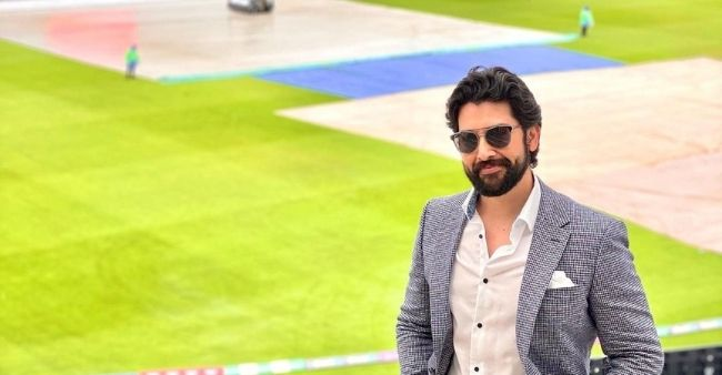 Aftab Shivdasani spotted enjoying India vs New Zealand match in the WTC final